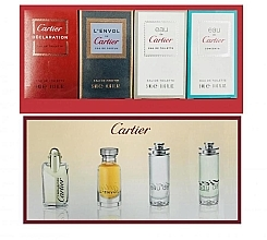 Parfémy, Parfumerie, kosmetika Cartier Perfume Mini Set For Men - Sada (edt/4ml + edt/2x5ml + edp/5ml)