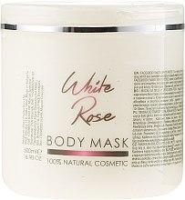 Parfémy, Parfumerie, kosmetika Maska na tělo a obličej bílá růže - Sezmar Collection Professional Body Mask White Rose