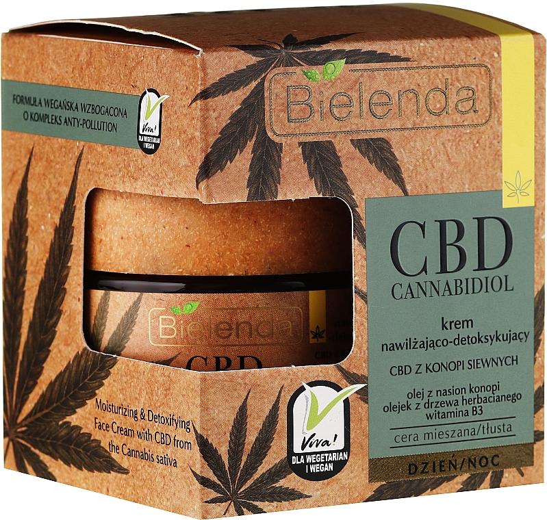 Detoxikační krém na obličej - Bielenda CBD Cannabidiol Cream