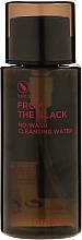 Parfémy, Parfumerie, kosmetika Čistící voda - A'pieu From The Black No Wash Cleansing Water