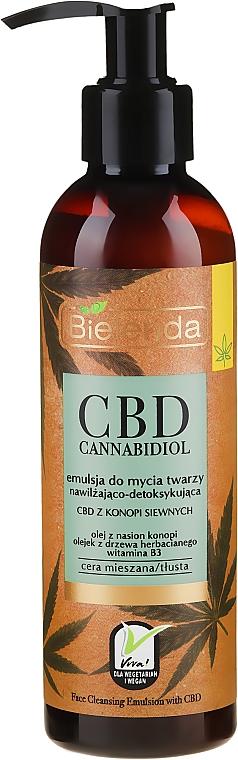 Emulze na obličej - Bielenda CBD Cannabidiol Emulse