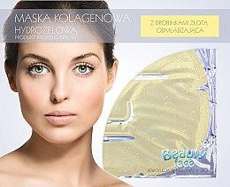 Parfémy, Parfumerie, kosmetika Kolagenová maska s částicemi zlata - Beauty Face Collagen Hydrogel Mask