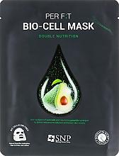 Parfémy, Parfumerie, kosmetika Biocelulózová maska s extraktem z avokádového oleje  - SNP Double Nutrition Bio-Cell Mask