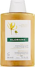 Parfémy, Parfumerie, kosmetika Voskový šampon Ylang Ylang - Klorane Sun Radiance Nourishing Shampoo
