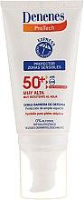 Parfémy, Parfumerie, kosmetika Opalovací olej na citlivou pleť - Denenes Sun Protective Cream SPF50+