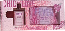 Parfémy, Parfumerie, kosmetika Chic&Love Fever - Sada (edt/100ml + bag)