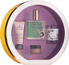 Parfémy, Parfumerie, kosmetika Sada - Nuxe Culte Prodigieux Box (oil/100ml + h/cr/30ml + lip/balm/15ml + candle)
