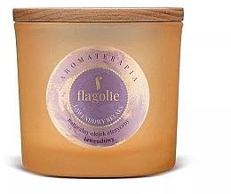 Parfémy, Parfumerie, kosmetika Vonná svíčka v sklenici Levandule - Flagolie Fragranced Candle Lavender Relax