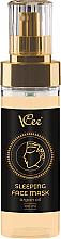 Parfémy, Parfumerie, kosmetika Noční pleťová maska s arganovým olejem - VCee Sleeping Face Mask Argan Oil