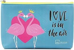 Parfémy, Parfumerie, kosmetika Kosmetická taštička se vzorem, modrá - IDC Design Accessories Cosmetig Bag