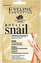 Parfémy, Parfumerie, kosmetika Peeling a maska na ruce - Eveline Cosmetics Royal Snail Sos Regenerating Hand Treatment