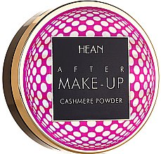 Parfémy, Parfumerie, kosmetika Kompaktní pudr na obličej - Hean After Makeup-up Cashmere Compact Powder