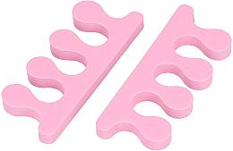 Parfémy, Parfumerie, kosmetika Separátor prstů, růžový - Tools For Beauty Toe Separator Pink