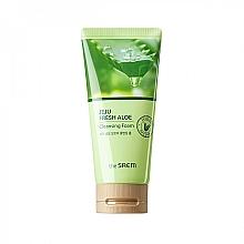 Parfémy, Parfumerie, kosmetika Hydratační čistící pěna s aloe - The Saem Jeju Fresh Aloe Cleansing Foam
