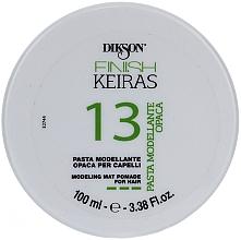 Parfémy, Parfumerie, kosmetika Stylingová pasta na vlasy - Dikson Finish Keiras Pasta Modellante Opaca 13