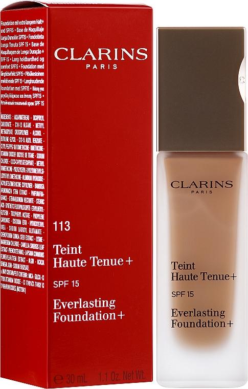 Odolný make-up - Clarins Everlasting Foundation+ SPF 15