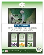 Parfémy, Parfumerie, kosmetika Sada esenciálních olejů Pro klidný spánek - Galeo To Help You Sleep Gift Set (ess/oil/3x10ml)