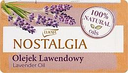 """Parfémy, Parfumerie, kosmetika Mýdlo """"Levandulový olej"""" - Luksja Nostalgia Lavender Oil Soap"""