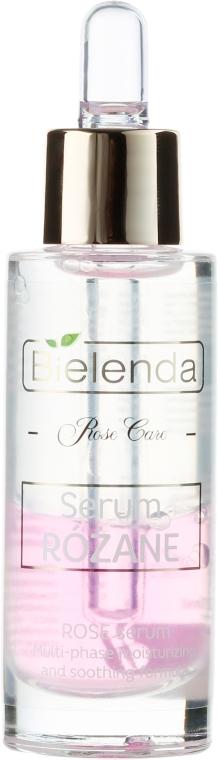 Dvoufázové sérum na obličej - Bielenda Rose Care Serum For Sensitive Skin — foto N2