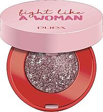 Parfémy, Parfumerie, kosmetika Oční stíny - Pupa Fight A Like Woman Dual Chrome Eyeshadow