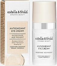 Parfémy, Parfumerie, kosmetika Antioxidační oční krém - Estelle & Thild Biodefense Antioxidant Eye Cream
