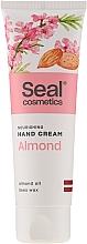 "Parfémy, Parfumerie, kosmetika Krém na ruce ""Mandle"" - Seal Cosmetics Almond Hand Cream"