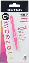 Parfémy, Parfumerie, kosmetika Pinzeta na obočí šikmá, růžová - Beter