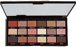 Parfémy, Parfumerie, kosmetika Paleta očních stínů, 18 odstínů - I Heart Revolution Chocolate Palette