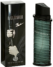 Parfémy, Parfumerie, kosmetika Real Time Black Warrior - Toaletní voda