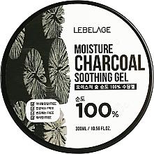 Parfémy, Parfumerie, kosmetika Zvlhčující gel s uhlím - Lebelage Moisture Charcoal 100% Soothing Gel