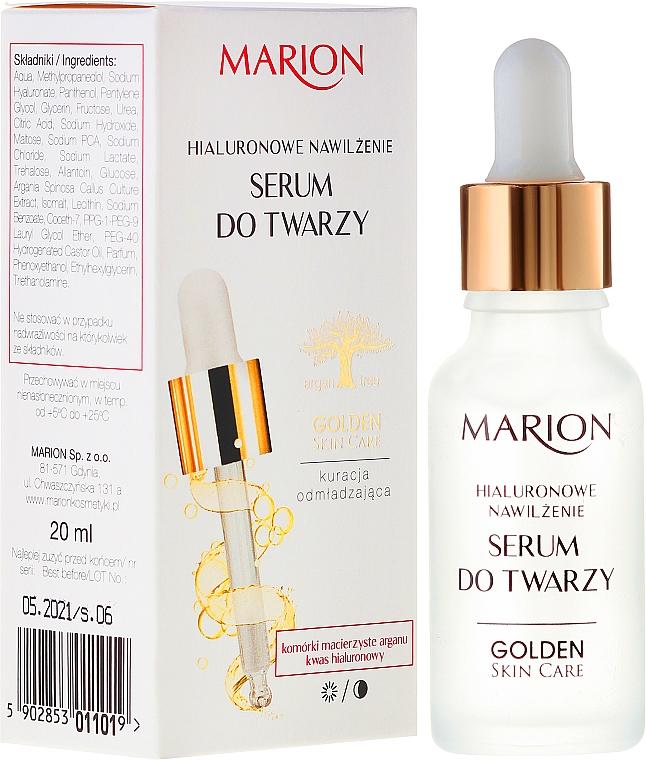 Sérum na obličej, krk a dekolt - Marion Golden Skin Care