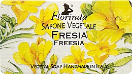 Parfémy, Parfumerie, kosmetika Přírodní mýdlo Frézie - Florinda Sapone Vegetale Freesia