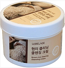 Parfémy, Parfumerie, kosmetika Čisticí krém se hnědou rýží - Lebelage Brown Rice Cleaning Cleansing Cream