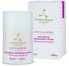 Parfémy, Parfumerie, kosmetika Anti-age vyživující pleťový krém - Aromatherapy Associates Anti-Ageing Rich Repair Nourishing Cream