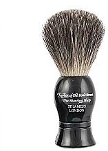 Parfémy, Parfumerie, kosmetika Holicí štětec, černý - Taylor of Old Bond Street Shaving Brush Pure Badger size S
