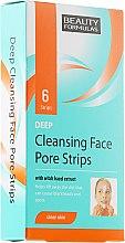 Parfémy, Parfumerie, kosmetika Proužky na čištění pleti - Beauty Formulas Deep Cleansing Face Pore Strips