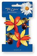 Parfémy, Parfumerie, kosmetika Gumičky do vlasů 2 ks, 21503 - Top Choice