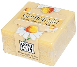 Parfémy, Parfumerie, kosmetika Mýdlo Heřmánek - Gori 1919 Chamomile Natural Vegetable Soap