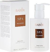 Parfémy, Parfumerie, kosmetika Tělový lotion - Babor Balancing Body Lotion