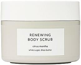 Parfémy, Parfumerie, kosmetika Obnovující telový peeling - Estelle & Thild Citrus Menthe Renewing Body Scrub