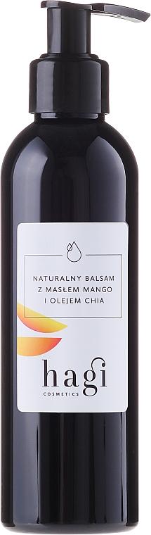 Přírodní tělový lotion s olejem z mango a chia - Hagi — foto N2
