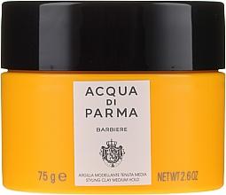 Parfémy, Parfumerie, kosmetika Modelovací hlína pro styling vlasů střední fixace - Acqua Di Parma Barbiere The Styling Clay Medium Hold