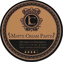 Parfémy, Parfumerie, kosmetika Stylingová matná pasta pro muže se silnou fixací - Lavish Care Matte Cream Paste