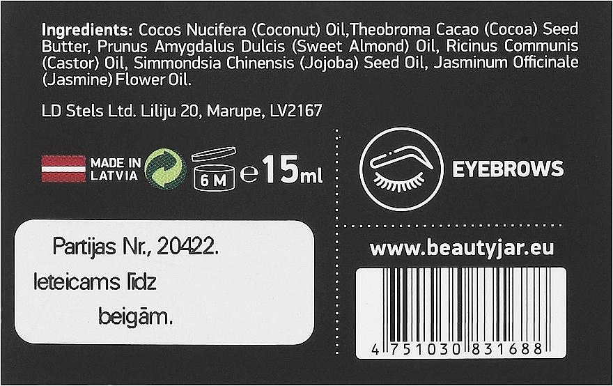 Olejový komplex pro růst obočí - Beauty Jar Second Chance Eyebrow Growth Oil Complex — foto N3