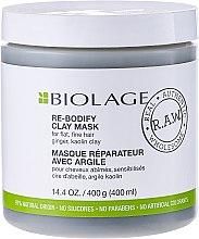 Parfémy, Parfumerie, kosmetika Maska na vlasy - Matrix Biolage R.A.W. Re-Bodify Clay Mask