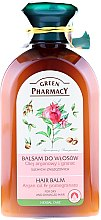 """Parfémy, Parfumerie, kosmetika Balzám na suché a poškozené vlasy """"Arganový olej a granátové jablko"""" - Green Pharmacy"""