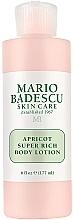 Parfémy, Parfumerie, kosmetika Tělový lotion - Mario Badescu Apricot Super Rich Body Lotion
