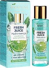 Parfémy, Parfumerie, kosmetika Hydro essence na obličej Limetka - Bielenda Fresh Juice Detoxifying Face Hydro Essence Lime