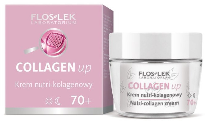 Krém na obličej kolagenový 70+ - Floslek Collagen Up Nutrii-collagen Cream 70+
