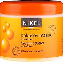 Parfémy, Parfumerie, kosmetika Kokosový olej na opalování - Nikel Coconut Butter